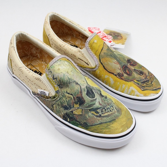 Vans Van Gogh Classic Slip on Sneakers Size US 6.5 Regular (M, B)